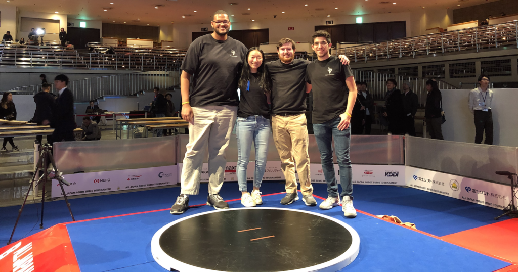 RoboWrestling team at competition