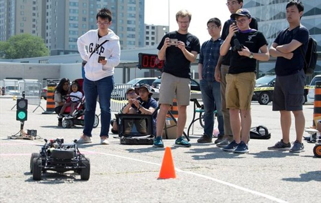 RoboRacing in The Record