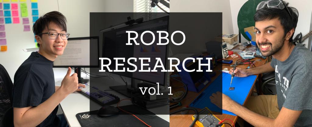 Varun and Oswin research